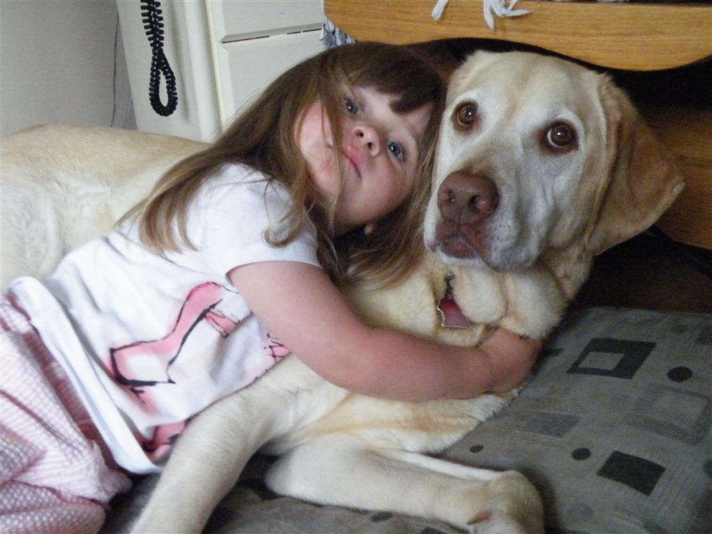 Copii refuză adesea să meargă la culcare, dar un animal poate fi de ajutor