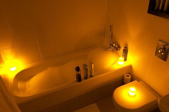 warm bath