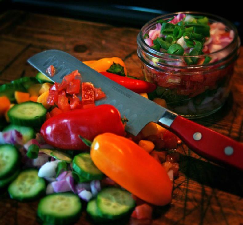 salata colorata